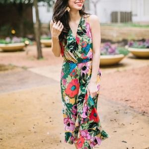Anthropologie x Tracy Reese Daphne Floral Dress XS